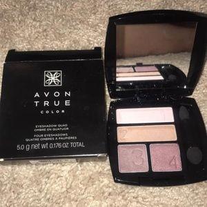 Avon true color eyeshadow quad never used